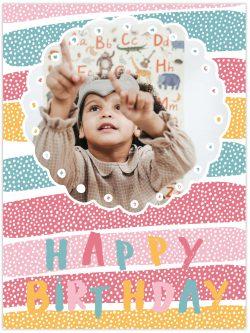 Cake design happy birthday