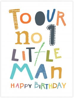 to our no.1 little man happy birthday
