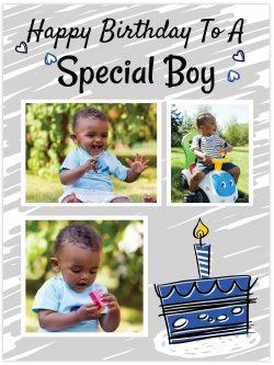 Happy birthday to a special boy