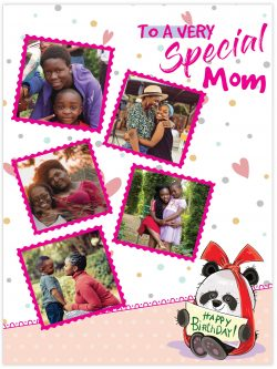 to a very special mom