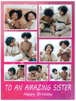 to an amazing sister
