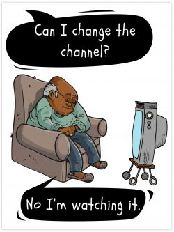 Can I change the channel?