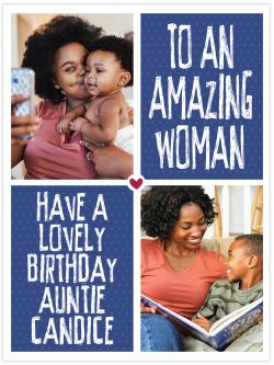 Have a lovely birthday auntie