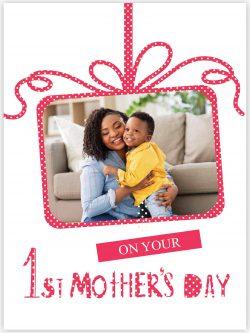 polka dot 1st mother's day